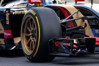 A 18-as felni nem F1-es autóra való!