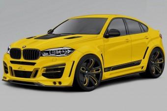 Karakteréhez méltó tuningot kap a BMW X6