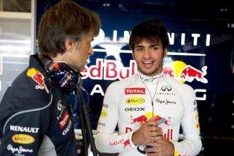 F1: A kis Sainz kitúrhatja Kobajasit