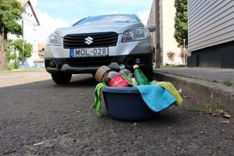 Autótakarítás fillérekből: nem mindig működik