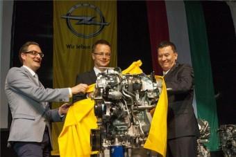 Új Opel-motorok Magyarországról