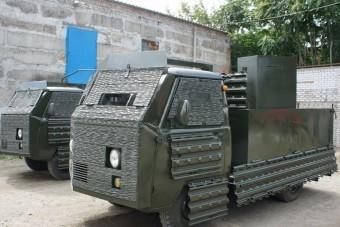 Páncélozott rettenet Ukrajnából