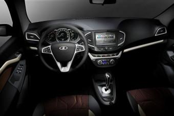 Hihetetlen: ultramodern belsővel jön az új Lada!