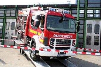 Tűzoltóautókat gyárt a Rába