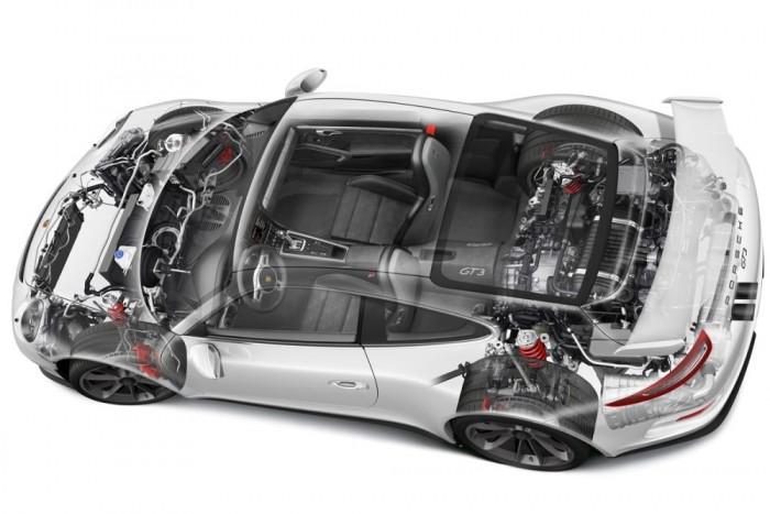 Szívó- és kipufogóoldalon is változó a szelepvezérlés, a motor száraz karteres olajozású. Hengerfejenként 2-2, a forgattyúsházból összesen két olajszivattyú nyomja az olajat a köztes tárolóba, hogy extrém oldalgyorsuláskor se maradjon kenés nélkül a motor