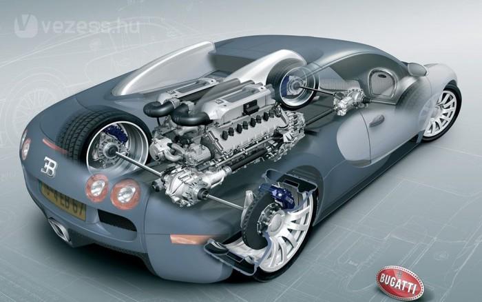Marad a 16 hengeres motor és a négykerék-hajtás