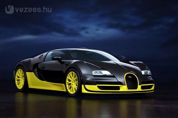 A Veyron Super Sport 431 km/órára képes. A cél, hogy az utódja 460 km/órával száguldhasson