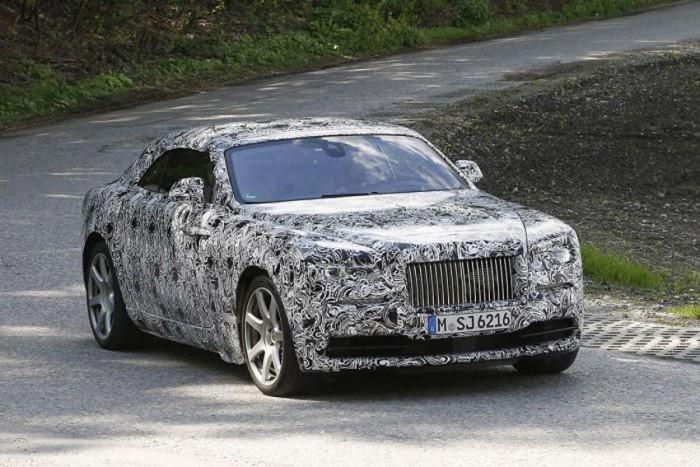 A Rolls-Royce még nem közölte, mi lesz az újdonság neve