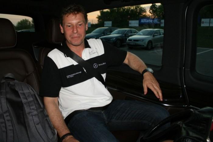 Mayländer 2004-ben hagyta abba az aktív autóversenyzést, mert a DTM nem fért bele a biztonsági autó vezetése mellett. Talán véletlen, de épp a tőle visszakért szolgálati C 36 AMG-ből lett az első Mercedes biztonsági autó 1996-ban