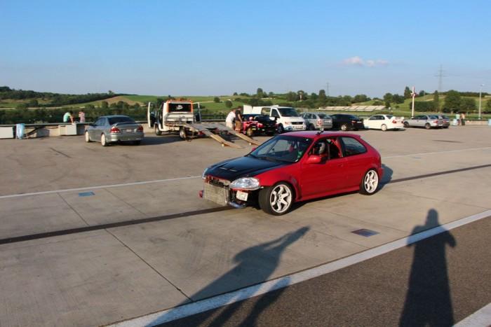 Turbósított Civic 390 lóerővel