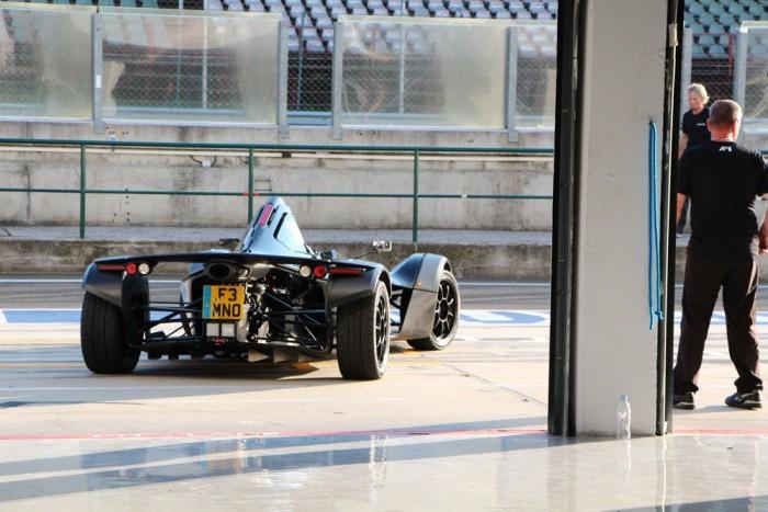 BAC Mono: F1-es technika az utcára. 520 kg, 280 LE