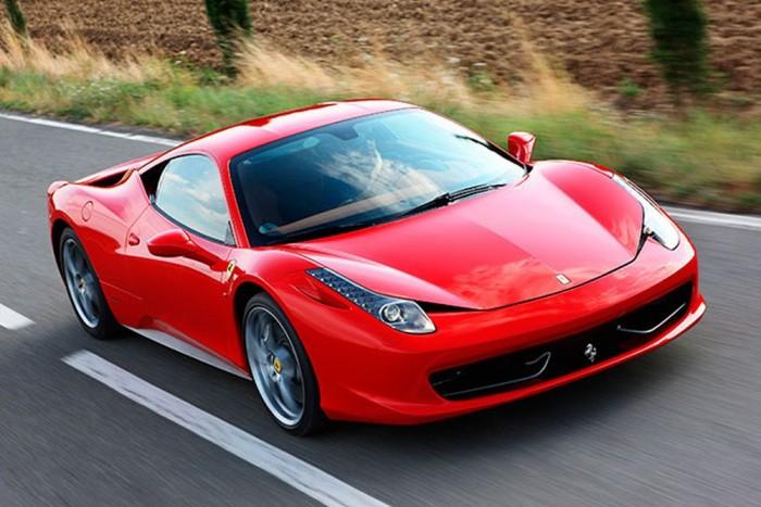 8.- Ferrari 458 Italia