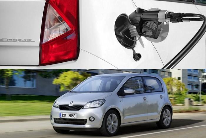 Három márka, azonos típus: a Seat Mii 1.0 Ecofuel Start&Stop, a Škoda Citigo 1.0 CNG Green tec és a Volkswagen eco up! azonos autók, így közösen foglalják el a második helyet. A földgáz-üzemű modellek CO2-kibocsátása 79 g/km, zajszintje 69 dB(a); az összpontszám 8,03
