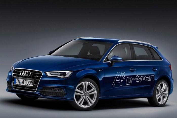 Negyedik az Audi gázos modellje. Az Audi A3 Sportback 1.4 TFSI g-tron S tronic 7,58 pontot kapott. 88 g/km, illetve 69 dB(A) jellemzi, az emberekre káros szennyezőanyagokból szinte semmit nem bocsát ki (9,35 pont).