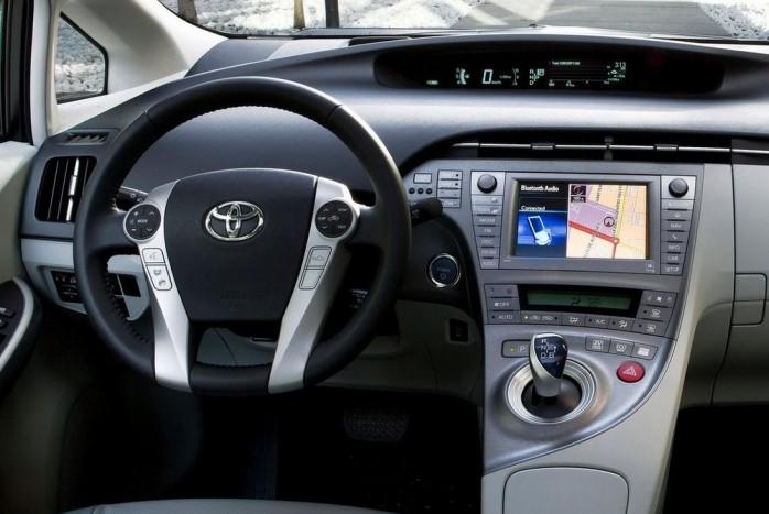Ötödik a Toyota Prius. Összpontszáma 7,53, CO2-kibocsátása 82 g/km, 69 dB(A)