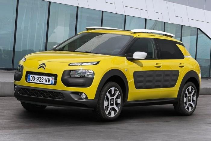 7,5 ponttal hatodik (holtversenyben a VW Polo 1.4 TDI BlueMotion modellel) a Citroën C4 Cactus BlueHDi. 82 g/km CO2, 70 dB(A) zajszint.