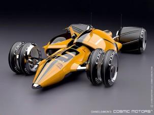 Az F1 csábító sci-fi jövőképe