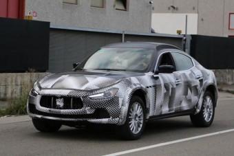 Már tesztelik a Maserati terepjáróját
