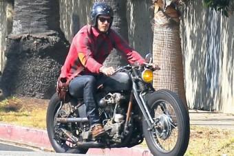 David Beckham motorral bukott
