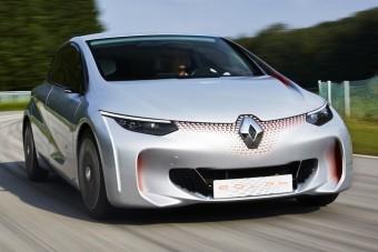 Egy litert fogyaszt a Renault kisautó-tanulmánya