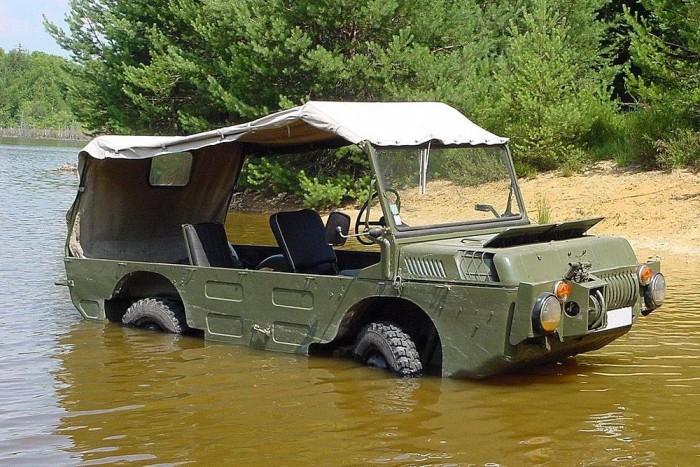 f9eda1a3cbc6 LUAZ - Talán a legkomikusabb kinézetű katonai kétéltű jármű, amit valaha  gyártottak