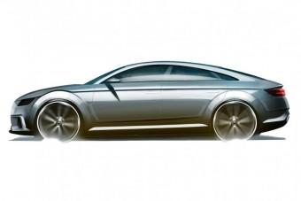 Négyajtós sportkupé az Auditól?