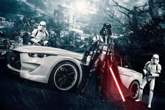 A Star Wars és az autóipar keveredése