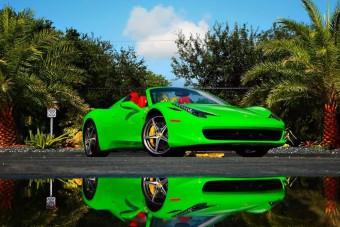 A legfeltűnőbb Ferrari, amit valaha láttál