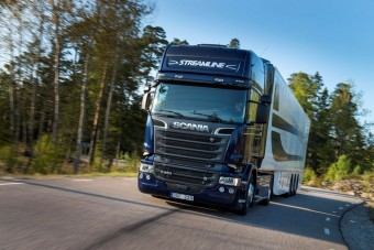 Erősödött a Scania Európában
