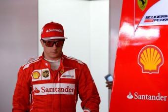 F1: Räikkönen kisírt magának egy új kasztnit