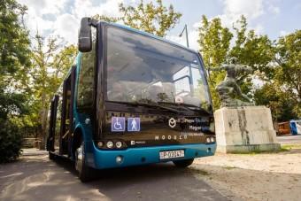 Magyar buszt tesztelnek Moszkvában