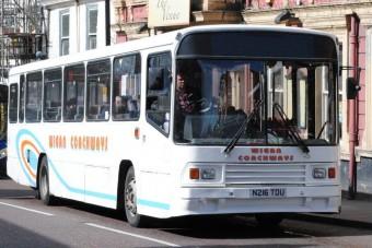 Megleckéztette utasait a buszvezető