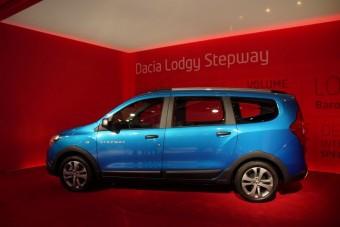 A Dacia két lépcsőfoknyi újdonsága