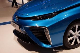 Jön a Toyota hidrogénautója
