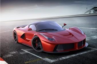 Ez történik, ha a csúcs-Ferrariban tövig nyomod a gázt