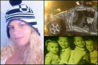 Esőben száguldott, megölte gyerekeit az anyuka