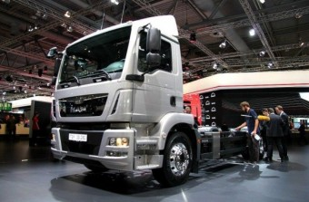 Gázos a németek új teherautója
