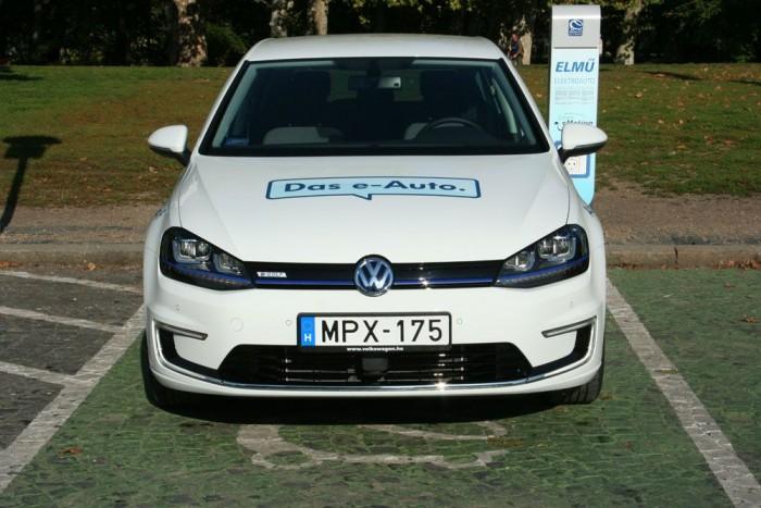 Teszt: Volkswagen e-Golf