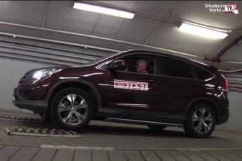 Megbukott a Honda szabadidőjárműve