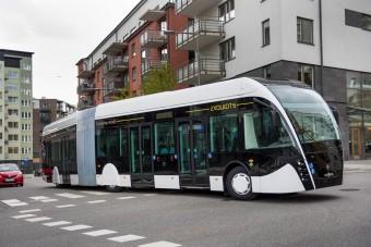 Futurisztikus gázbusz a belgáktól