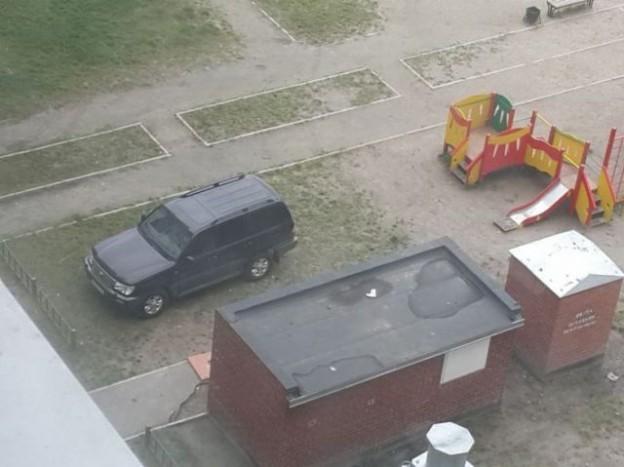 Úgy látszik a játszótér vonzza a SUV-okat