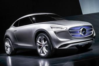 Parányi SUV-tanulmány a Mercedestől