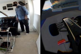 Őrült élmény lehet egy virtuális F1-es a nappalidban
