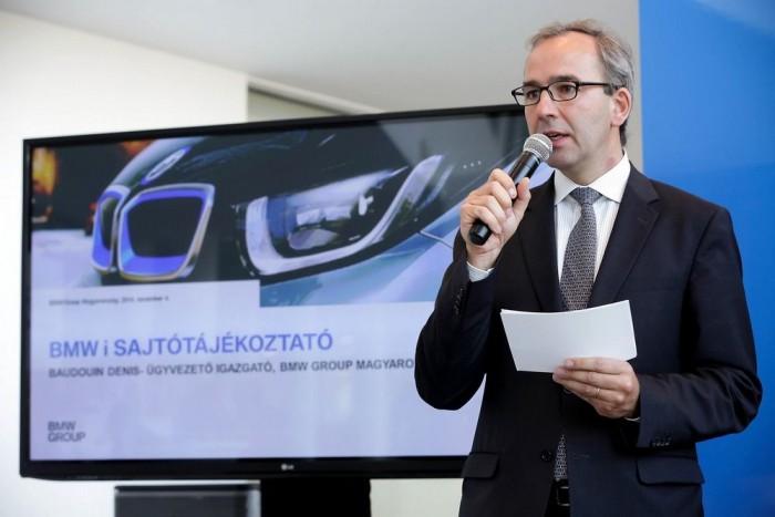 A BMW csoport hazai helytartója is bízik a sikerben, jövőre 70-100 i modell eladásával számolnak itthon