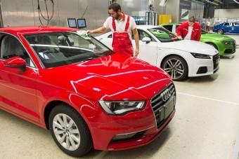 Elindult az új Audi TT Roadster gyártása Győrben