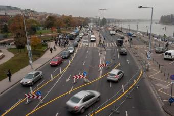 Kellemetlen meglepetés a Margit hídnál