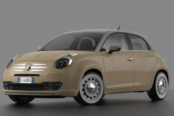 Ilyen lehetne a Fiat Punto utódja, hogy tetszik?