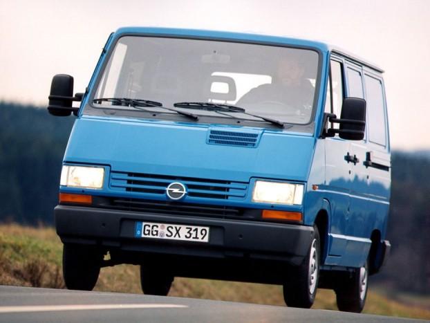 1997-ben vette fel az Opel az addigra elavult Traficot a kínálatába, Arena néven