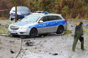 Autójában robbantotta fel magát egy német férfi