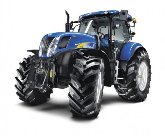 10. A ma kapható legszebb - Legalábbis egyes agrár fórumok véleménye alapján, a fokozatmentes váltóval szerelt, New Holland T7000-es sorozata az egyik legcsábítóbb külsővel megáldott mezőgazdasági munkagép napjainkban. Főleg maserati-kék színben!